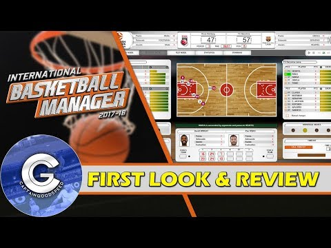 BRAND NEW BASKETBALL GAME   International Basketball Manager   First Look & Review