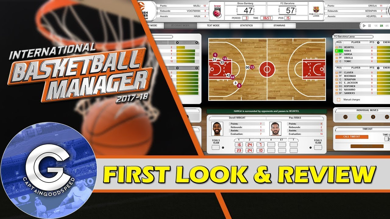 Brand New Basketball Game International Basketball Manager First