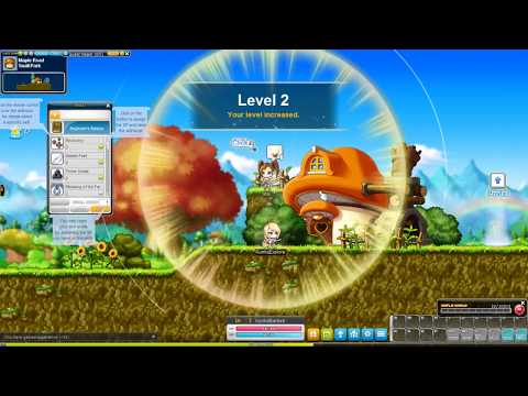 MapleStory – Steam version – 2017 Gameplay – Explorer – Part 1 – Maple Road