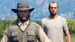 14 Red Dead Redemption Easter Eggs in GTA 5 You Had No Clue Existed!