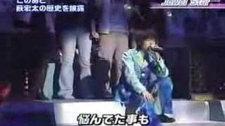 Jewel Star(2006?) in Ya-Ya-yah Live Stage.