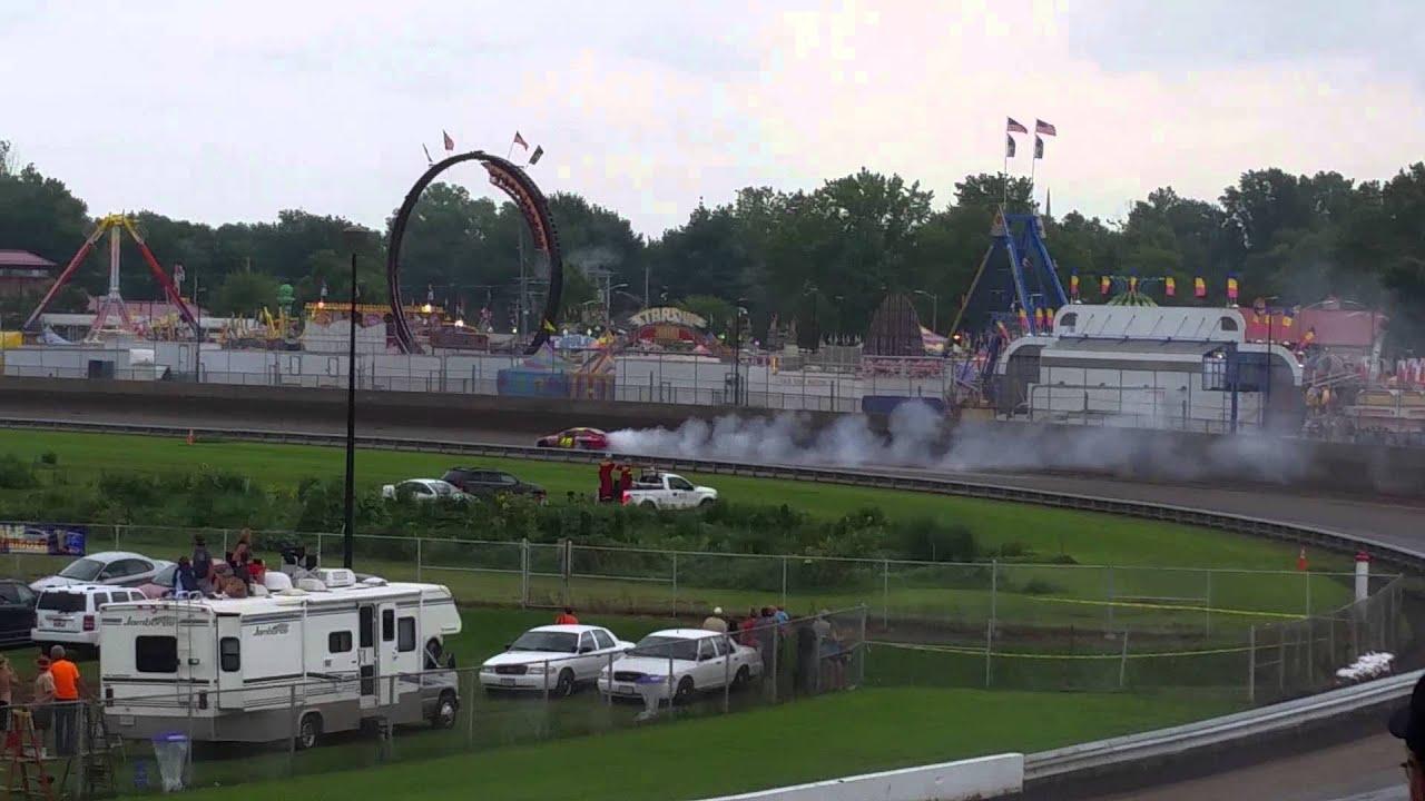 Illinois State Fair Nascar Arca Series Blown Engine