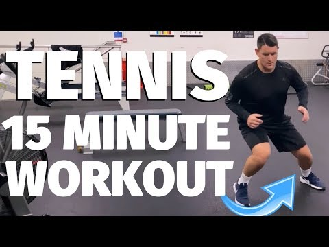 15 Minute Home Workout For Tennis Players