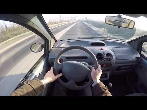 Renault Twingo 1.2 16V (2003) - POV Drive