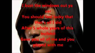 Bust your windows - Jazmine Sullivan Karaoke