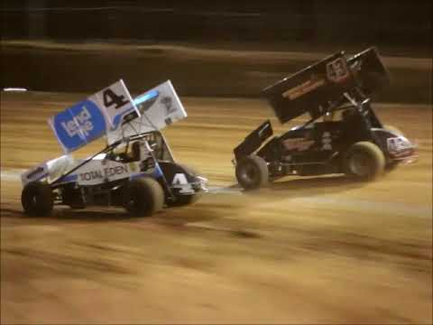 27th April 2019 - Moora Speedway Final Meeting - Limited Sprintcar Championship Series The top 6 Pole shuffle had one absolute ripper, with Craig Bottrell ... - dirt track racing video image
