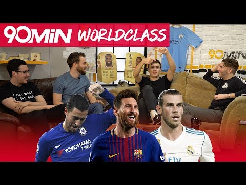 TOP 5 WINGERS IN THE WORLD! | Salah better than Hazard!? | Sane and Sterling world class!?