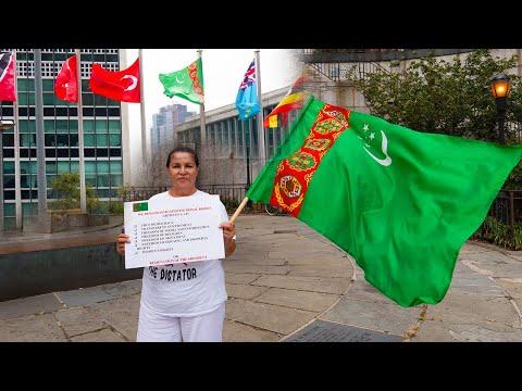 Narjan Muzapberova Turkmen Halkyna Yuzlenme   TURKMENISTAN