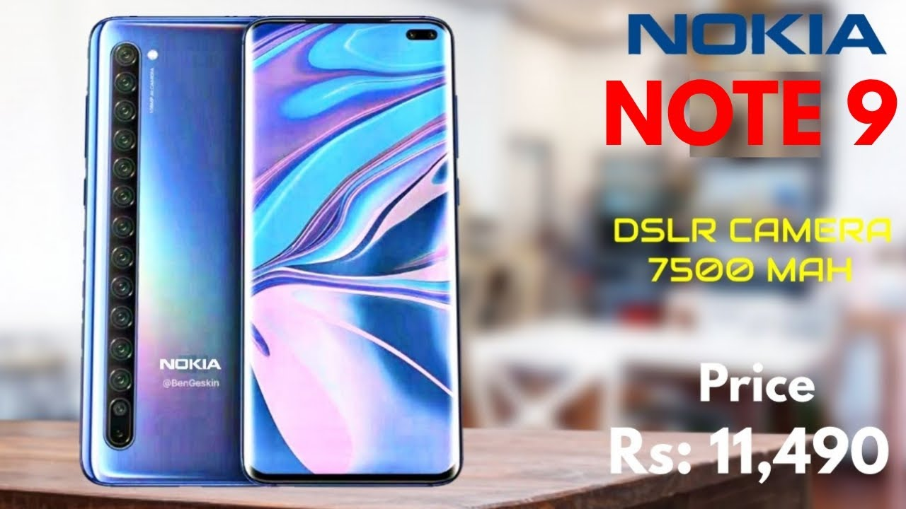 Nokia Note 9 - 7.2 Inch Display, 144MP Camera, First Look, Hands-on