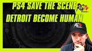 PS4 Save The Scene. Éxito total. Detroit Become Human