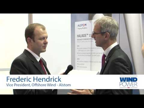 Frederic Hendrick, from Alstom, interviewed at Offshore Wind 2013