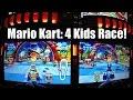 Mario Kart Arcade GP DX Game: Kids Car Racing At Dave & Buster's Ticket Arcade: Girls vs Boys