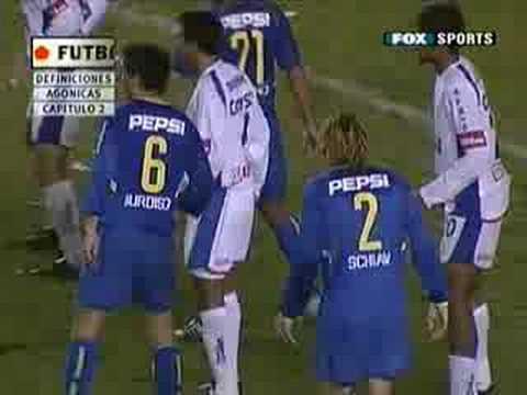 BOCA JUNIORS VS. SAO CAETANO  LIBERTADORES 2004 (VUELTA)