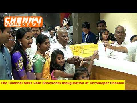 Chennai Silks 24th Showroom Inauguration at Chromepet Chennai