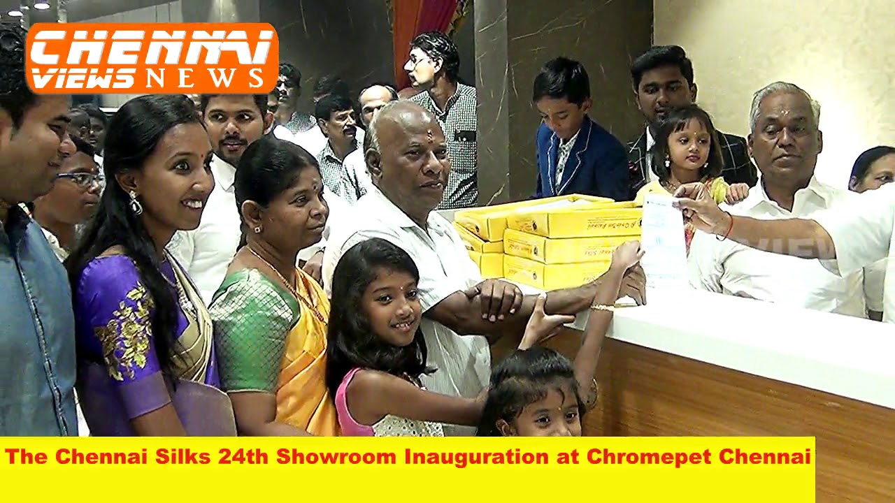 Chennai Silks 24th Showroom Inauguration at Chromepet Chennai