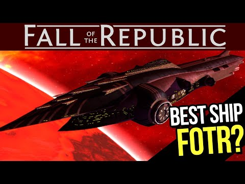 5 Most POWERFUL Ships in Fall of the Republic! (New Empire at War Clone Wars Mod)