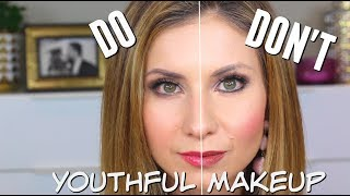 Youthful Makeup | Dos, Don'ts & What YouTube is Teaching You that May Make You Look Older