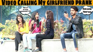 Video Calling My Cute Girlfriend prank | Awesome Reactions | Prank in india |Jaipur tv | rozbuzz