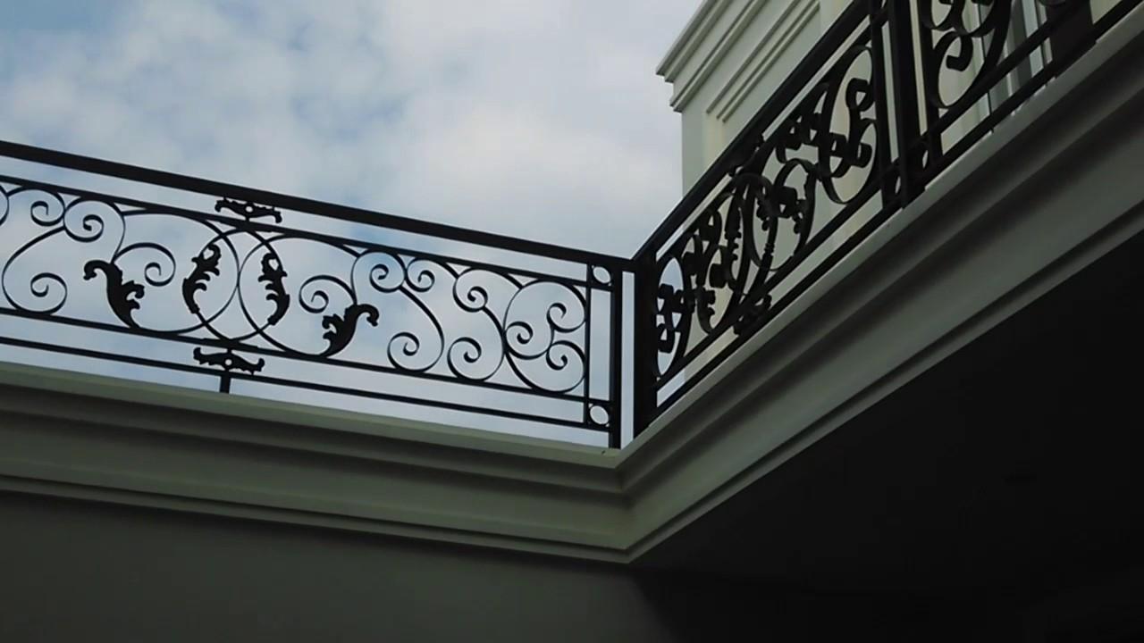 Jual Teralis Balkon Besi Tempa Klasik Jakarta Bogor Tangerang