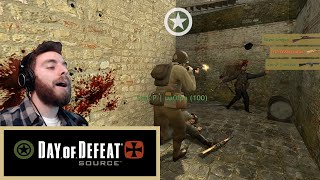 THE QUEST FOR A TRIPLE KILL! | Day of Defeat: Source Gameplay