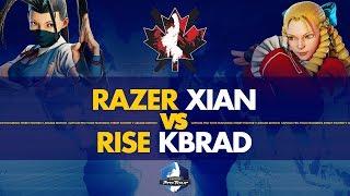 Razer Xian (Ibuki) VS Rise KBrad (Karin) - Canada Cup 2019 Pools - CPT 2019