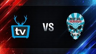 WePlay vs Not So Serious - day 4 week 6 Season I Gold Series WGL RU 2016/17