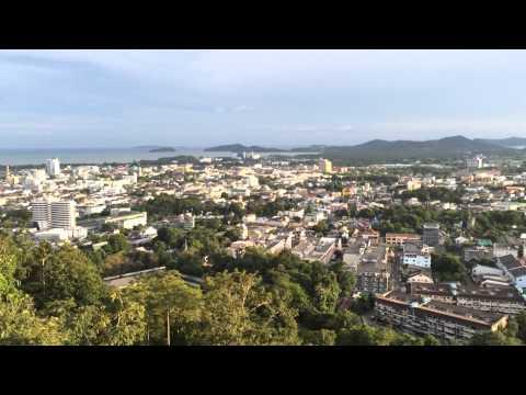 ขึ้นเขารัง ชมมุมสูงเมืองภูเก็ต เห็นเมืองและทะเลเต็มๆ ตา Scenic Phuket Thailand