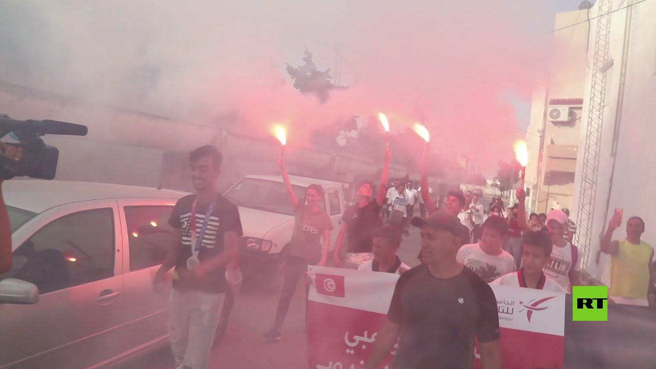 تونس.. استقبال حار لـ الجندوبي صاحب فضية التايكوند في أولمبياد طوكيو  - نشر قبل 3 ساعة