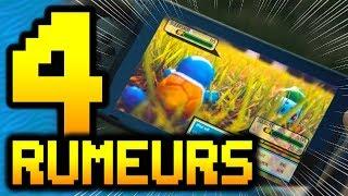 4 RUMEURS SUR LE RPG POKÉMON POUR SWITCH !