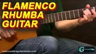 FINGERSTYLE GUITAR: Flamenco Rumba Guitar