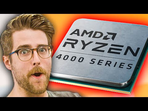 Ryzen 4000 (sort of) is HERE.