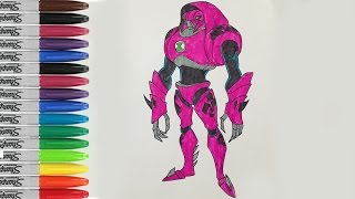 Water Hazard Coloring Book Pages Ben 10 Alien Force SAILANY Coloring Kids