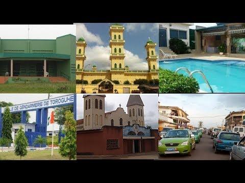 Daloa ville ivoirienne / cote d'ivoire découverte