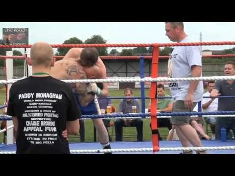 Monaghans Prize Fighters - Bare Knuckle Boxing Mathew Thorn v Jason Grant