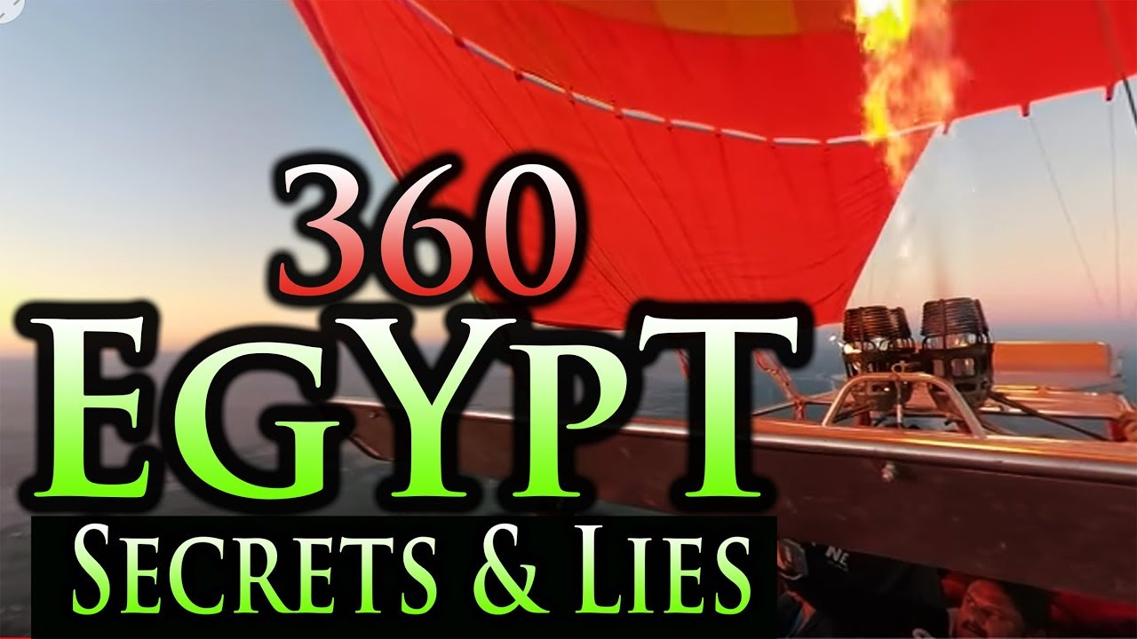EGYPT: BEST 360 FOOTAGE ~ SECRETS of PYRAMIDS (360 footage of EGYPT, the PYRAMIDS, NILE)
