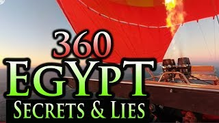 Egypt: Best 360 Footage ~ Secrets Of Pyramids  360 Footage Of Egypt, The Pyramid