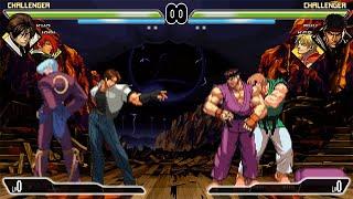 Mugen Kio y Iori VS Ryu y Ken