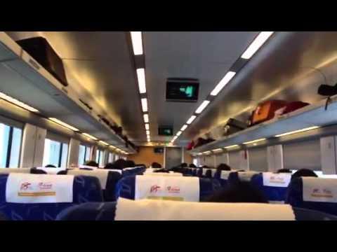 Tren Bala en Yiwu