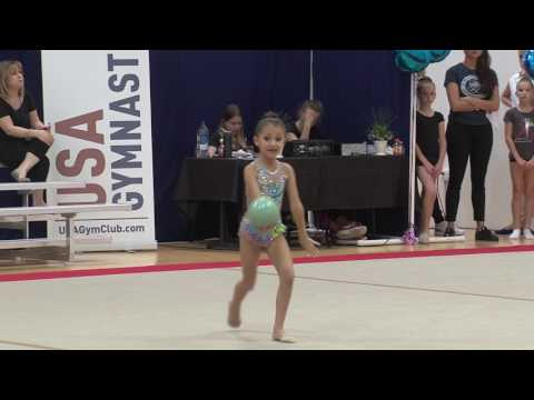 Ball Routine Rhythmic Gymnastics Nola Empringham Level 5