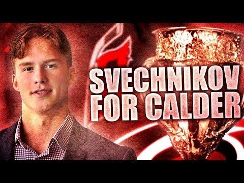 What It'd Take…: Andrei Svechnikov Winning The Calder Trophy (Carolina Hurricanes Prospect)