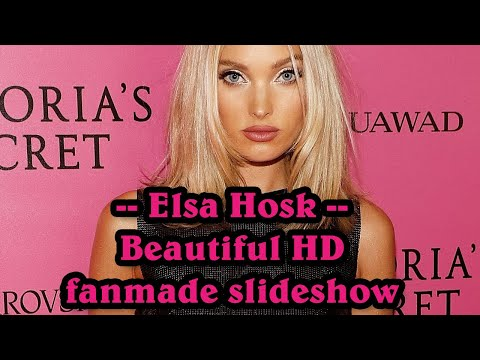 Elsa Hosk - Swedish Victoria's Secret fashion model beautiful HD fanmade slideshow from YouTube · Duration:  14 minutes 32 seconds