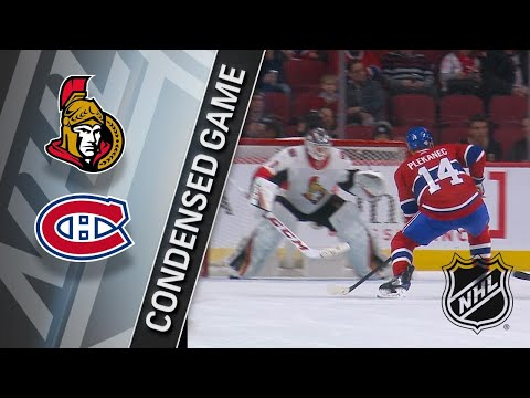 02/04/18 Condensed Game: Senators @ Canadiens