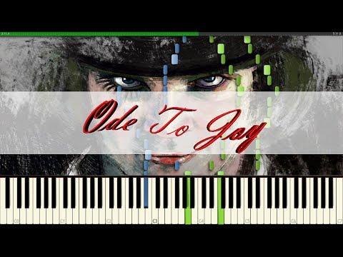 9th Symphony (Ode To Joy) (Orange Clockwork Soundtrack) // L. V. Beethoven // Piano Tutorial