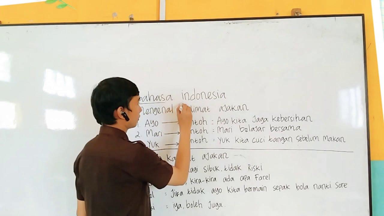 Mengenal Kalimat Ajakan   Bahasa Indonesia   YouTube