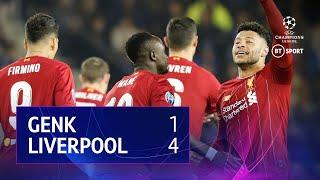 Genk vs Liverpool (1-4) | UEFA Champions League highlights