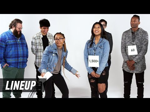 Who's Slept With the Most People? | Lineup | Cut