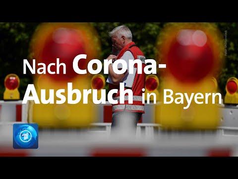 Nach Corona-Ausbruch in Bayern: Höhere Strafen bei Hygiene-Verstößen