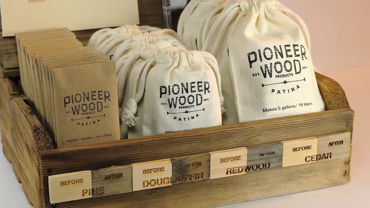 Pioneer Wood Patina Presented by Woodcraft - YouTube