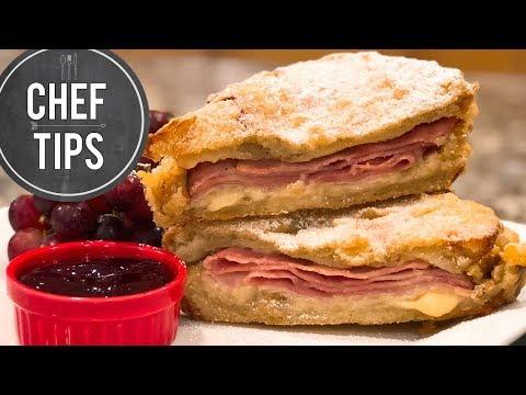 Monte Cristo Sandwich Recipe | Disneyland Monte Cristo Sandwich | Chef Tips