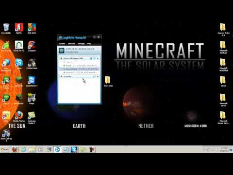 How To Make A Hamachi Minecraft Server 1.5 + Bad Login Fix!